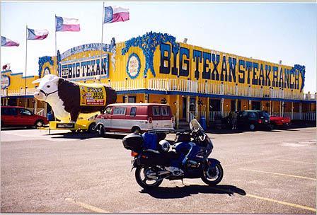 Big Texan Steak Ranch - eat a 64 oz steak get it free